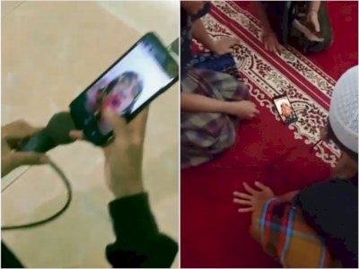 Momen Kocak Remaja mesjid Bangunkan Sahur Pakai Suara Mimi Peri, Netizen: Mimpi Buruk