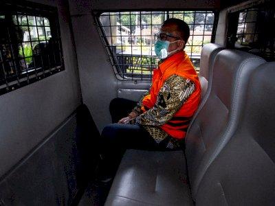 Edhy Prabowo Akui Gunakan Uang Suap Benih Lobster untuk Shoping di AS