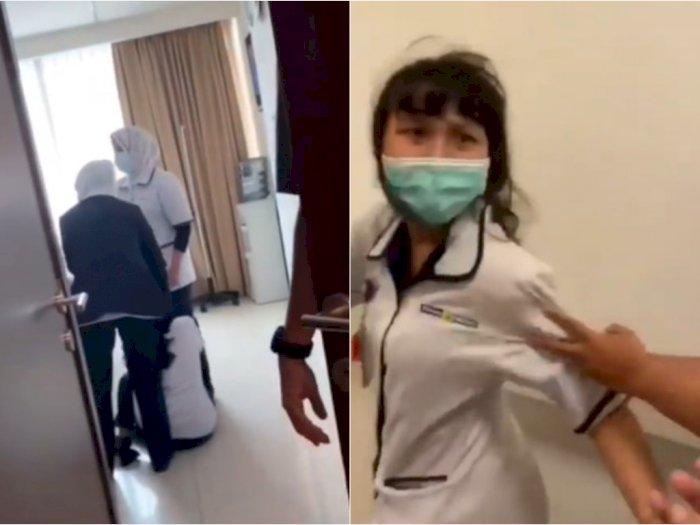 Viral Perawat Dianiaya Keluarga Pasien Sampai Memar Diduga Gara-gara Masalah Infus