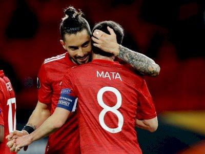 FOTO: Liga Europa, Manchester United vs Granada 2-0 (Agg. 4-0)
