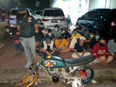 Polres Jakbar Ciduk 40 Remaja yang Balap Liar