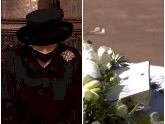 Ratu Elizabeth II Tinggalkan Surat di Peti Mati Pangeran Philip, Isinya Apa Ya?