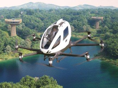 Prestige Motorcars Bakal Bawa Mobil Terbang EHang ke Indonesia Juli Ini!
