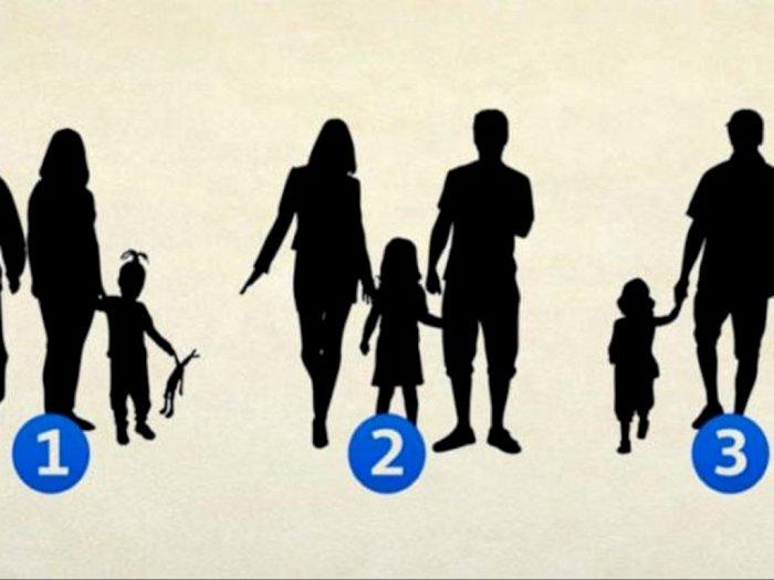 Coba Tebak, Dari 3 Gambar Ini Mana yang Merupakan Keluarga Palsu? Bisa Ungkap Kepribadian