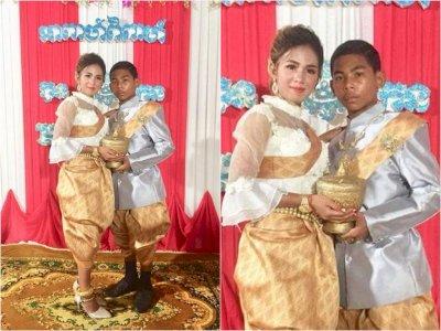 Bocah 14 Tahun Ini Ajak Gadis Cantik 21 Tahun Menikah, Netizen Geger Lihat Fotonya