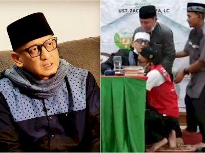 Kondisi Terkini Ustaz Zacky Mirza Usai Pingsan saat Ceramah di Pekanbaru, Doain Ya