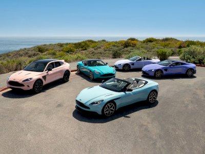Aston Martin Perlihatkan Mobil Buatanya yang Tampil dengan Warna Pastel!