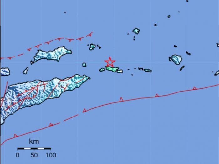 Maluku Barat Daya Diguncang Gempa M 5,7