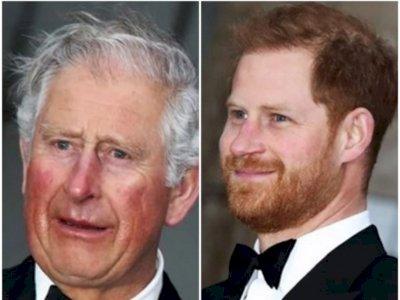 Sebelum Kembali ke USA, Pangeran Harry Sempat Ngobrol Tatap Muka dengan Pangeran Charles