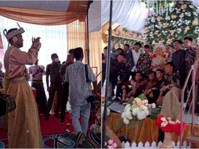 Kocak! Pengantin Pria Malah Disuruh jadi Fotografer di Hari Pernikahan