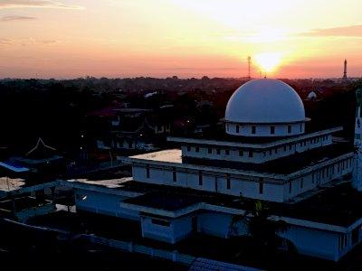 FOTO: Masjid Tertua di Kota Jambi