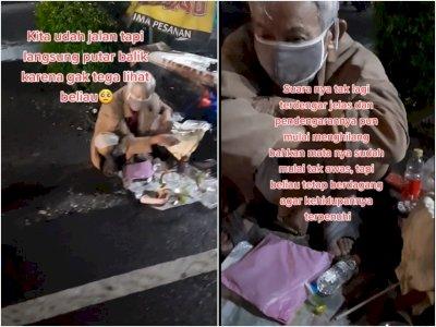 Sedih! Viral kakek yang Berjuang Mencari Nafkah Jualan Mainan Tradisional Hingga Malam