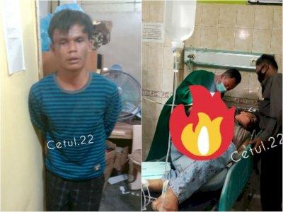 Tragis, Pria Bacok Polisi Pakai Parang di Binjai, Tak Senang Dilerai saat Cekcok
