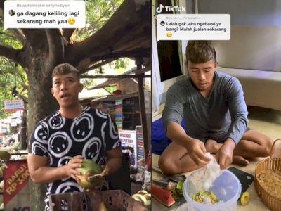 Sepi Job, Ruri Vokalis Repvblik Banting Stir Jualan Es Kelapa: Yang Penting Halal Bro