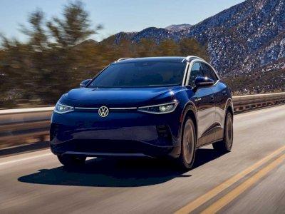Volkswagen ID.4 Dinobatkan Sebagai Mobil Terbaik di Dunia Tahun 2021!