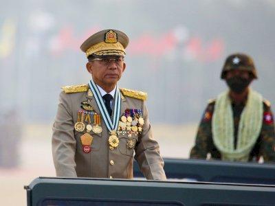 Militer Myanmar Pastikan Jenderal Min, Otak Pembunuhan Demonstran Datang ke Jakarta