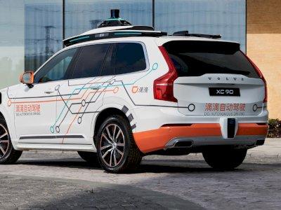 Mobil SUV Volvo XC90 Dijadikan Mobil Uji Otonom oleh Pihak Didi!