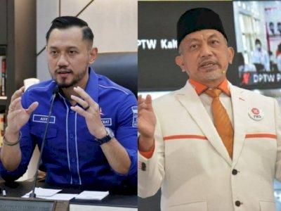 Besok, AHY Dijadwalkan Akan Bertemu dengan Presiden PKS Ahmad Syaikhu, Ada Apa?