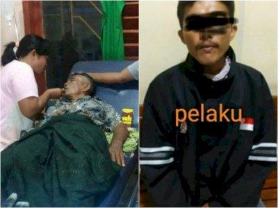 Sadis, Pria Ini Bacok Imam Masjid Pakai Parang di Takalar, Tersinggung Dengar Isi Ceramah