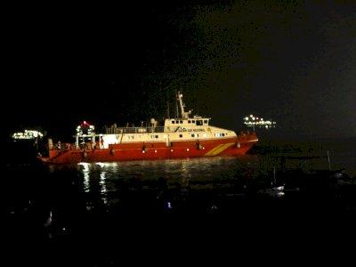 Kapal SAR Antasena Tiba di Banyuwangi Untuk Cari Kapal KR Nanggala-402 yang Hilang Kontak