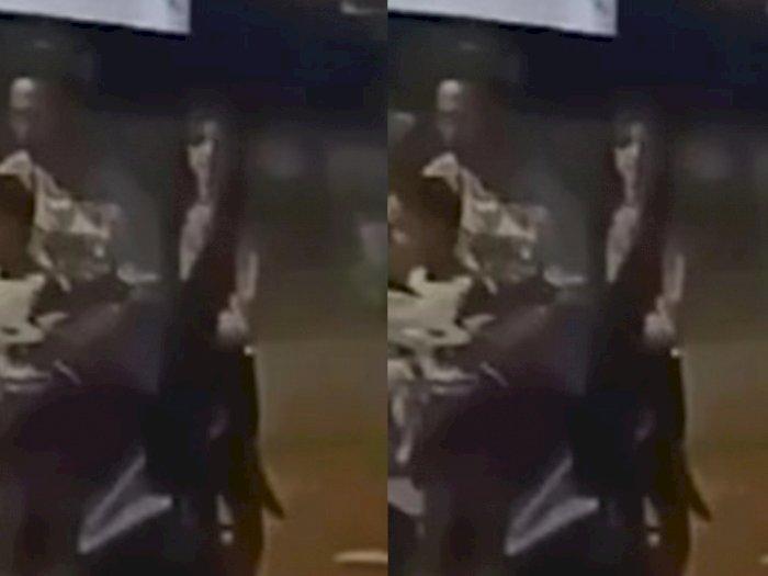 Viral Video Seorang Pemotor Enggak Sadar Bonceng Sosok Wanita Diduga Kuntilanak