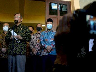 Penangkapan Terduga Teroris Banyak dari Sulsel, Mahfud MD: Jangan Pikir Pemerintah Lambat