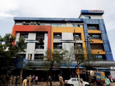 Kebakaran Rumah Sakit di India Menyebabkan 13 Pasien Covid-19 meninggal
