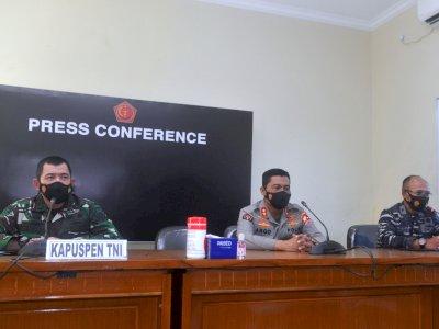 Kapuspen TNI Sebut Tim Pencarian KRI Nanggala-402 Tersebar di 9 Titik