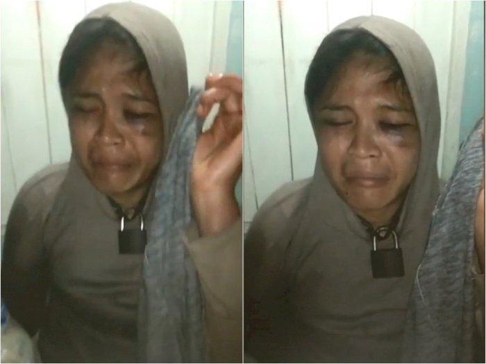 Kronologi Janda yang Disekap & Leher Dirantai Besi di Medan, Kabur saat Temannya Tertidur