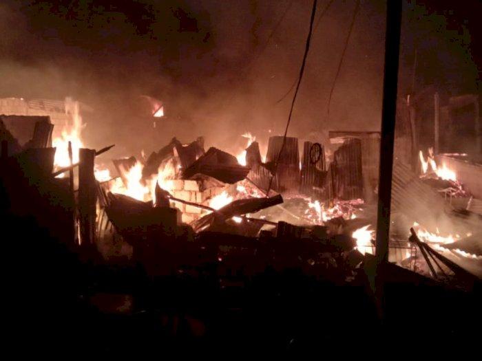 Balita Mainin Korek Api di Atas Kasur, 9 Rumah Terbakar hingga 2 Orang Tewas
