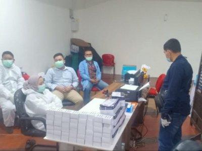 Diduga Ada Pemalsuan Proses Tes, Layanan Rapid Test Antigen di Bandara Kualanamu Digerebek