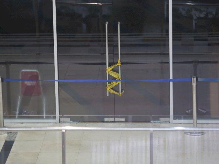 FOTO: Pascapenggerebekan Layanan Swab Antigen Bandara Kualanamu