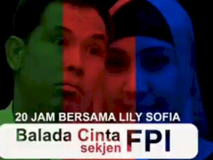 Video Balada Cinta Munarman dan Lily Sofia Ala Film AADC, Pengacara: Ghibah Itu