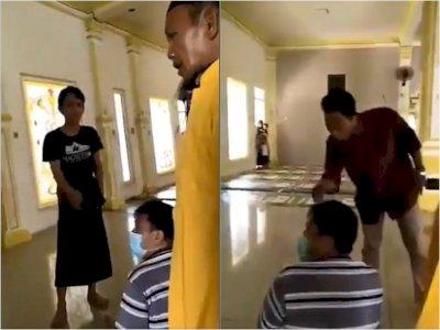 Viral, Pengurus Masjid Usir Pasutri karena Pakai Masker saat Salat, Ribut Hingga Adu Mulut