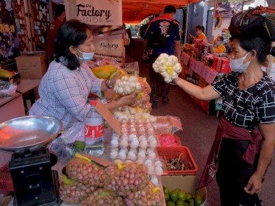 FOTO: Pasar Murah Jelang Idul Fitri di Bali