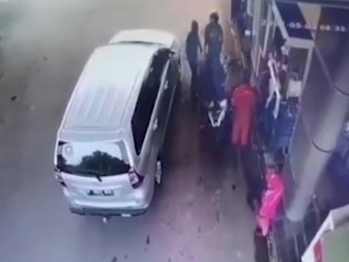 Viral! Diduga Oknum Polisi Aniaya dan Ancam Tembak Warga di Banten