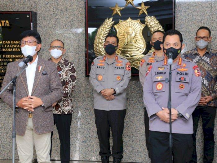 Kominfo Gandeng Polri Selesaikan Target 4G di 83.548 Desa