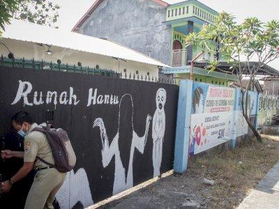 FOTO: Melihat Rumah Karantina Pemudik yang Angker di Sragen Jawa Tengah