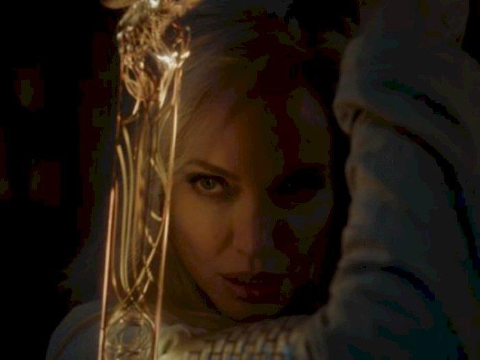 Begini Loh Wujud Angelina Jolie Dalam Film Marvel Berjudul Eternals