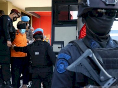 Lagi! Densus 88 Ringkus Seorang Terduga Teroris, Ternyata Sudah Masuk DPO
