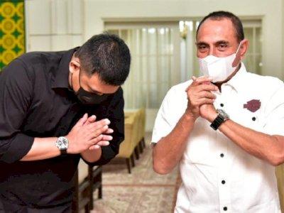 Duduk Perkara Edy Rahmayadi Ngamuk ke Bobby Mantu Jokowi: Tak Ada Urusanku Siapa Dia