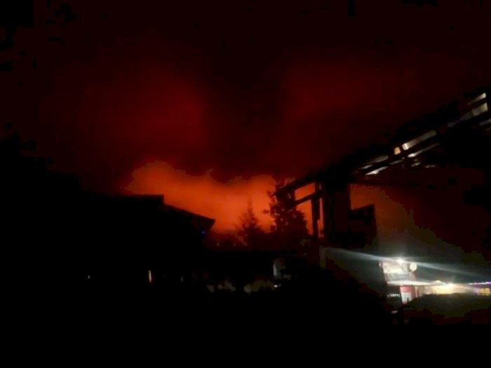 Mencekam! KKB Serang Polsek Hingga Bakar Runah Warga di Ilaga Papua