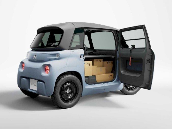 Citroen Luncurkan Mobil Listrik Mini My Ami Cargo dengan Harga Rp79 Juta!