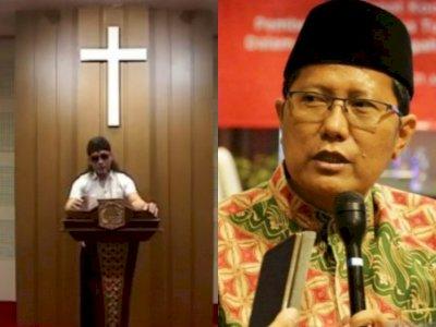 Polemik Muslim Masuk ke Gereja, Ketua MUI Akhirnya Buka Suara, Penjelasannya Mengejutkan