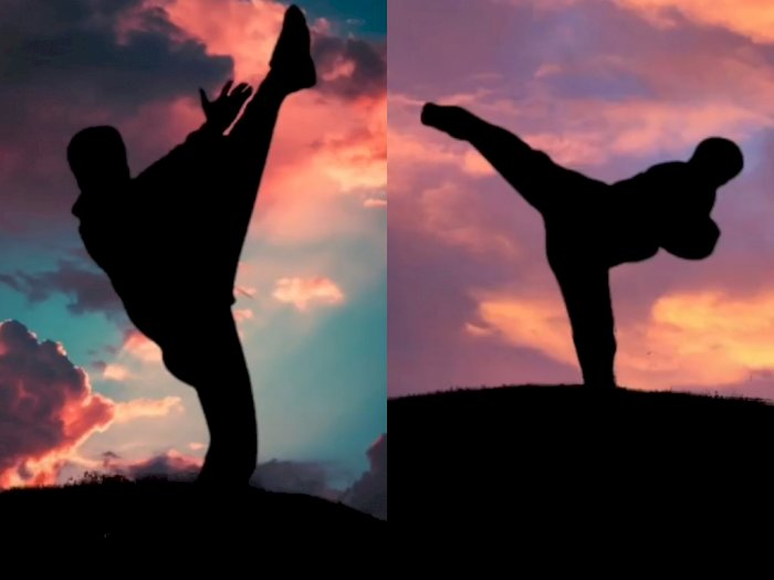 Keren Gak Harus 'Uwu', Pria Ini Bikin Takjub saat Buat Video Aurora Pakai Gerakan Wushu
