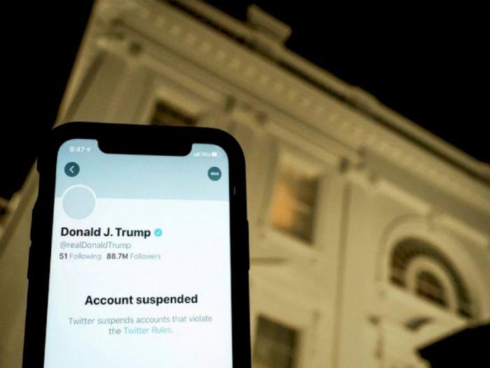 Twitter Lakukan Perma-ban Akun Mantan Presiden Donald Trump!