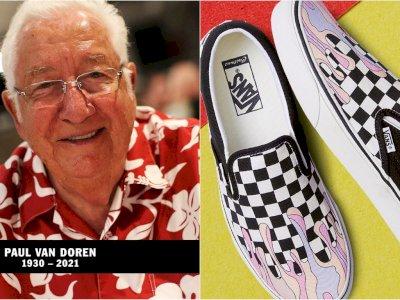 Paul Van Doren, Pendiri Sneakers Vans Meninggal Dunia