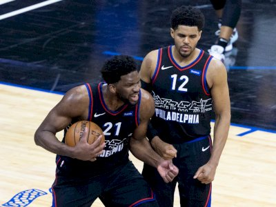FOTO: Philadelphia 76ers Menang Tipis 109-107 Atas New Orleans Pelicans