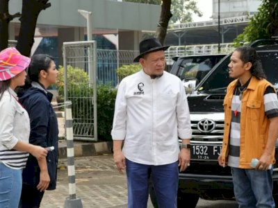 Dukung Perfilman Indonesia, Ketua DPD RI Ini Jadi Cameo di Sinetron Amanah Wali