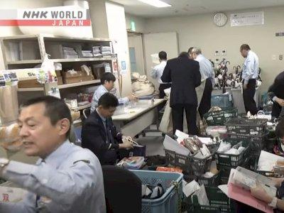 Salut! Begini Seriusnya Petugas di Jepang Mengurus Barang yang Hilang